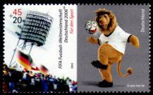 2006年ドイツW杯サッカー記念切手