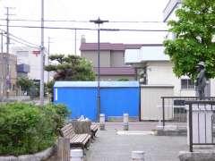札幌北局と彫刻「夏の日」