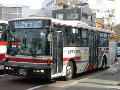 中央バス白石本線バス写真