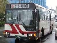 旭川電気軌道・旭山動物園行バス写真