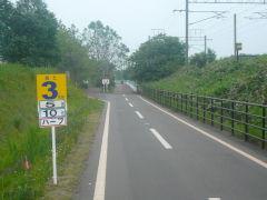 北広島ハーフ・残り3km地点