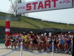 豊平川マラソンスタート風景