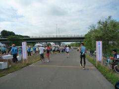 豊平川市民マラソン・スタート地点
