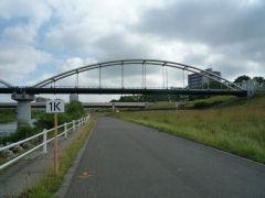 豊平川市民マラソン・1km地点