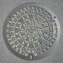 デザインマンホール・埼玉県深谷市