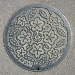 デザインマンホール・埼玉県北本市