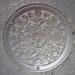 デザインマンホール・埼玉県鴻巣市