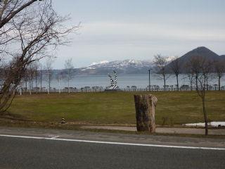 洞爺湖マラソン2km地点