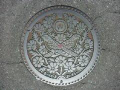 デザインマンホール・旧松山町