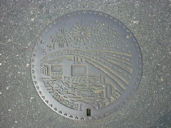 デザインマンホール・石巻市