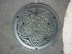 デザインマンホール・旧大宮市