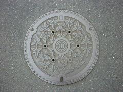 デザインマンホール・川越市