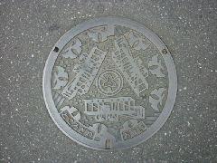 デザインマンホール・所沢市