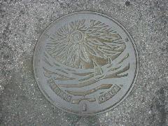 デザインマンホール・館山市