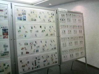 「パソコン郵趣部会展」会場写真
