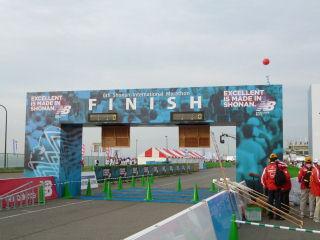 第6回湘南国際マラソンゴールゲート