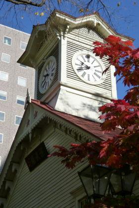札幌市時計台写真