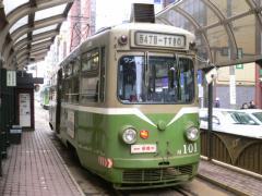 札幌市電M101号車